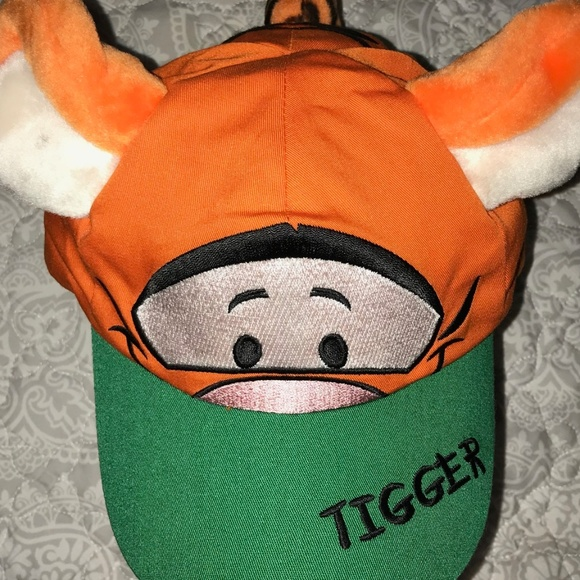 799d8c9a2c6 Disney Other - Disney Tigger Winnie Pooh Toddler Hat Baseball Cap